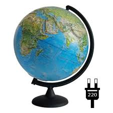 <b>Глобус Глобусный мир</b> физико-политический рельефный 32 см ...