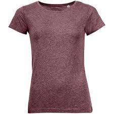 <b>Футболка женская MIXED</b> WOMEN бордовый меланж, размер M ...