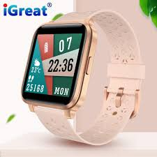 iGreat <b>X3C smart watch</b> GPS IP68 waterproof weather forecast long ...