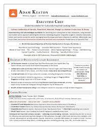award nominated executive chef sample resume   executive resume    for your executive resume writing needs