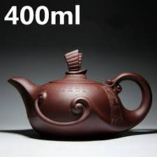 Chinese Oriental Tea Pot Kettle 400ml Large Capacity Teapots ...