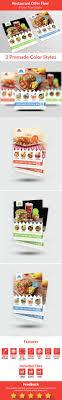 restaurant offer flyer by mmounirf graphicriver restaurant offer flyer restaurant flyers
