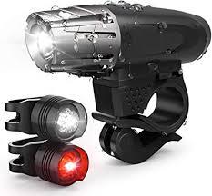 <b>Bicycle Headlight</b> Road Bike LED Front Lamp Laser Rear <b>Taillight</b> ...