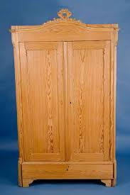 enlarge photo antique english pine armoire