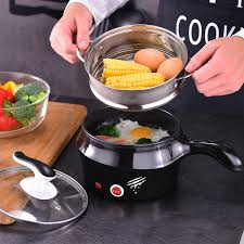 220V 1L Household <b>Electric Multi Cooker</b> Pot With Steamer Mini ...