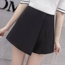 2018 <b>Korean</b> PU Faux <b>Leather Shorts Women</b> Autumn Winter High ...