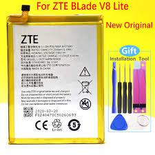 <b>100</b>% NEW <b>Original 2500mAh</b> Battery For ZTE BLade V8 Lite 5.0 ...