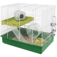 Купить <b>клетка для хомяков Ferplast</b> Hamster Duo, 46x29x37,5 см ...