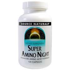 Source Naturals, <b>Super Amino Night</b>, 120 - Buy Online in Grenada at ...