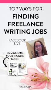 best ideas about writing jobs creative writing the top ways for finding lance writing jobs online video