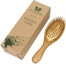 Neverland Beauty <b>Natural</b> Bamboo Hair <b>Brush</b> Detangling Massage ...