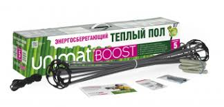 Стержневой <b>теплый пол UNIMAT BOOST</b> 160 Вт/м2, 25 пог/м