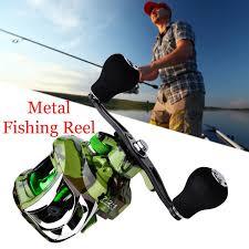 Metal <b>water</b> drop reel <b>18</b> + 1 <b>axis</b> vertical <b>fishing reel</b> 7: 1: 1 fishing ...