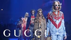 Gucci Spring <b>Summer 2018 Fashion</b> Show: Full Video - YouTube