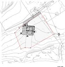 Family House In Pavilniai Regional Park   By Architectural Bureau    site plan  drawing Courtesy of Architectural Bureau G Natkevicius  amp   ners