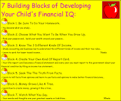 about raising your child s financial i q in the information age one of the most important was about homework 69 wds in my previous books i explained how i learned about money working