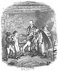 oliver s reception by fagin and the boys eighth illustration for oliver s reception by fagin and the boys eighth illustration for oliver twist by george cruikshank