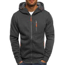 LAAMEI 2020 <b>Spring Men's</b> Sweatshirt Hoodies Sweatershirt Zipper ...