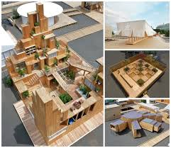 new images of completed pavilions released as house vision tokyo opens to the public courtesy atelier bow wow office nap
