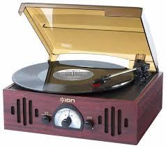 Купить <b>Виниловый проигрыватель Ion</b> Trio <b>LP</b> коричневый по ...