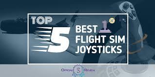 5 Best <b>Flight Sim Joysticks</b> | 2019 <b>Simulator Joystick</b> Reviews