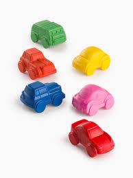 Набор восковых <b>мелков</b>, 6 цветов - <b>Happy Baby</b>