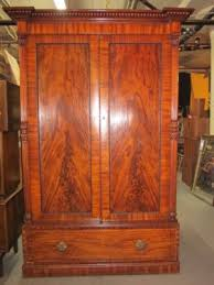 large antique mahogany armoire closet completed 42500 furniture price guide antique mahogany armoire