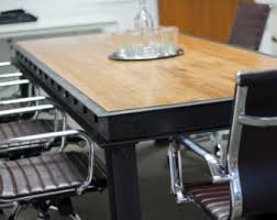 the harding industrial conference table modern industrial office design carruca desk office