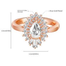 <b>ROMAD</b> Hot Sale Gifts for New Year Rose Gold Color <b>Jewelry</b> ...