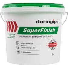 <b>Шпаклёвка</b> готовая <b>финишная Danogips</b> SuperFinish 5 кг в ...