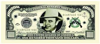 Resultado de imagem para charges de Al Capone