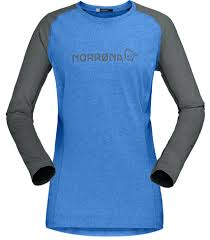 <b>Футболка</b> женская <b>Norrona Fjora Equaliser</b> Lightweight LS ...