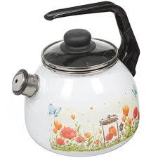 Чайник <b>эмалированный СтальЭмаль</b> 4с209я Голландский со ...