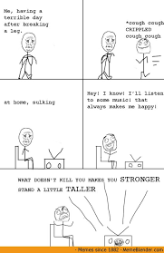 Meme Comic - Broken Leg via Relatably.com