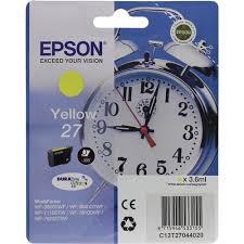 Оригинальный <b>картридж Epson</b> T2704 (желтый) Желтый (Yellow ...