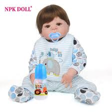 <b>NPKDOLL 55cm Soft</b> Silicone Doll Reborn Realistic Reborn Toddler ...