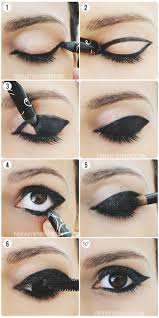 a tutorial to the exaggerated winged think mod cat eye