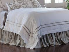 Soho White Linen with <b>Ice</b> Silver Velvet Pillows <b>Bedding Sets</b> Online ...