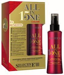 Selective All In One <b>Маска</b>-<b>спрей 15 в 1</b> для окрашенных волос