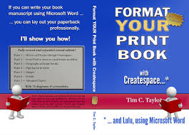 format your book for createspace tim c taylor formatyourprintbook2nded cover07flat