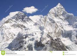 mount everest and nuptse royalty stock photos image  mount everest and nuptse