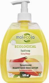 """<b>Molecola</b> Жидкое <b>крем</b>-<b>мыло для рук</b> """"Манго"""" 500 мл — купить в ..."""