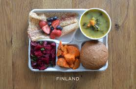 how school lunches around the world compare to america sweetgreentumblrcom   tumblrcom finlands school lunch