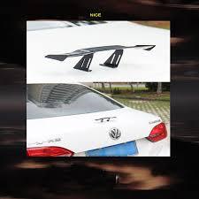 <b>RASTP Car</b> 17cm Black Carbon Fiber Twil Look GT Tiny Mini Rear ...