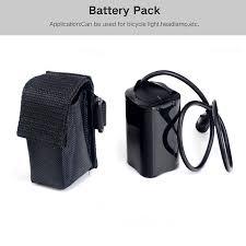 2016 new bike light 4x 18650 battery pack 84v for solarstorm x2 x3 t6 lamps arco lighting