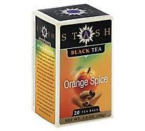 Stash <b>Black Tea Double Spice</b> Chai - 18 Count - carrs