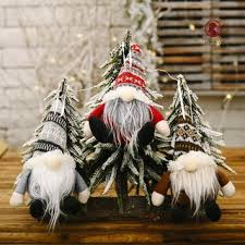 OLI <b>Christmas</b> Gnome Ornaments <b>Knit</b> Hat Spherical <b>Forester</b> ...