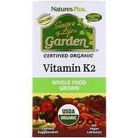 Nature's Plus, <b>Source of Life</b>, <b>Garden</b>, Vitamin D3, 60 Vegan Capsules