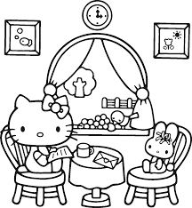 printable hello kitty coloring pages for kids hello kitty valentine coloring pages