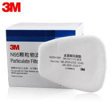 3M 5N11 <b>10PCS</b> Filter Cotton <b>N95 Particulate</b> Filter for Gas Mask ...